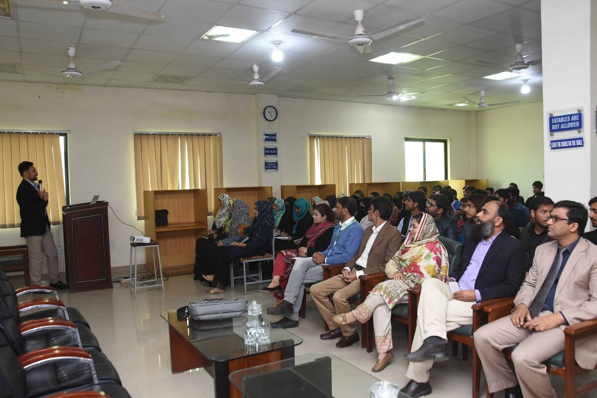 Dr. Hasnain Bokhari's Visit to UO - Day 02