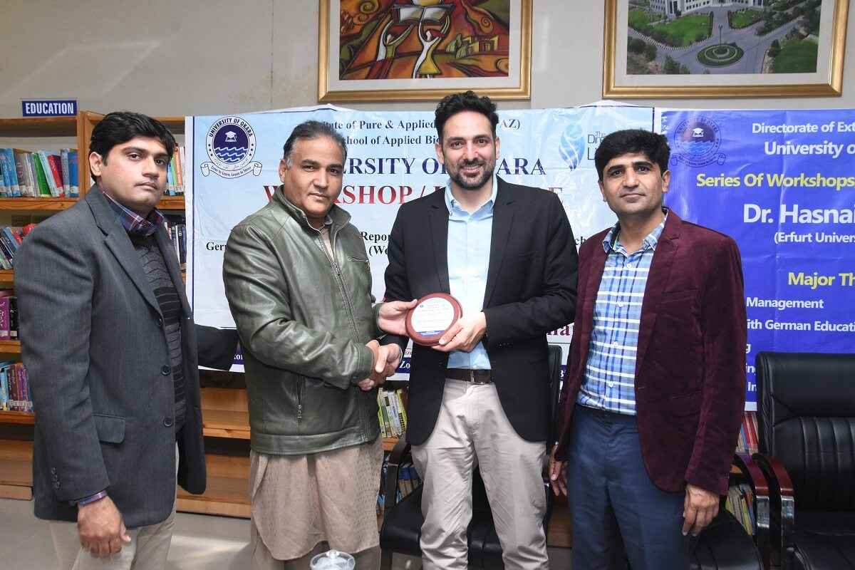 Dr. Hasnain Bokhari's Visit to UO - Day 03